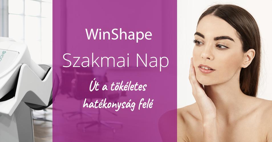 Winshape szakmai nap – út a tökéletes hatékonyság felé