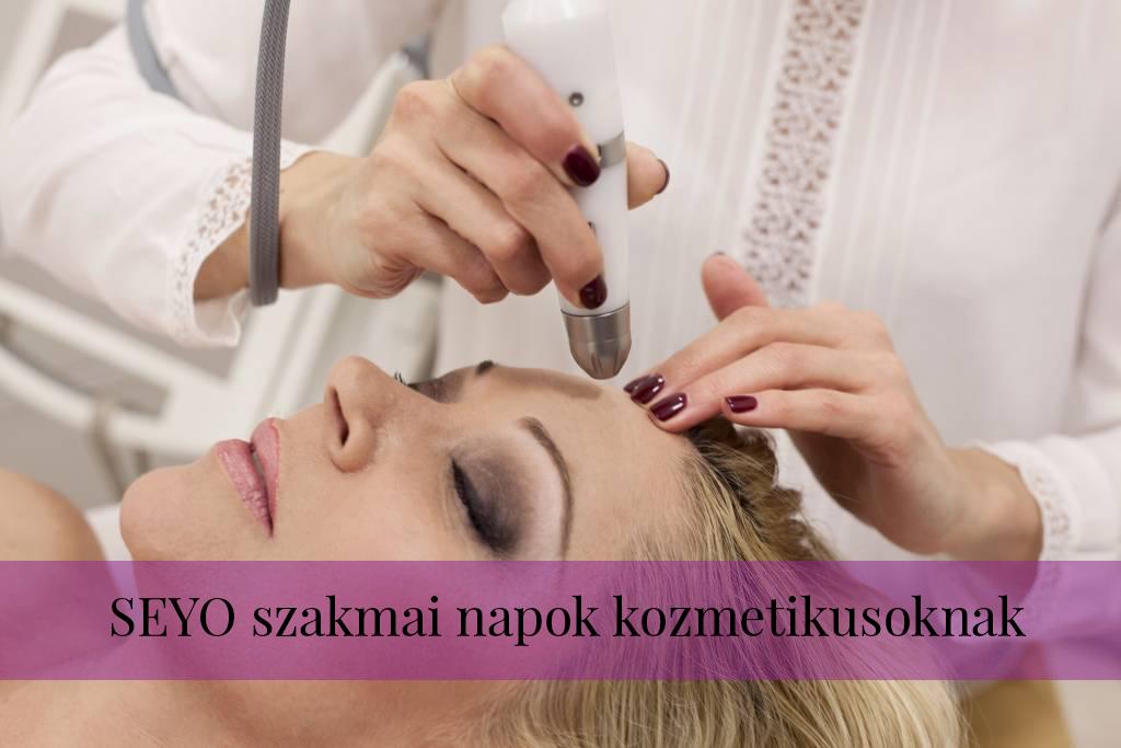 SEYO szakmai napok kozmetikusoknak